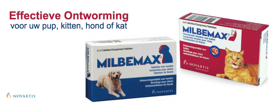 Milbemax ontworm regelmatig